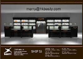Display Cases Custom Dcounter Glass Tower Jewelry Wall Cabinets