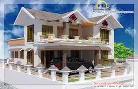 Double story home design Kerala home design and floor plans