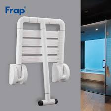 frap wand montiert dusche sitzbank dusche klapp sitz bad