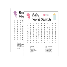 TENDYCOCO 35PCS Baby Shower Games Gift Ideas Cards New Mom Or Dad