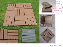 wood plastic composite outdoor decking floor wood plastic
