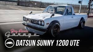 100 Datsun Truck 1974 Sunny 1200 UTE Jay Lenos Garage