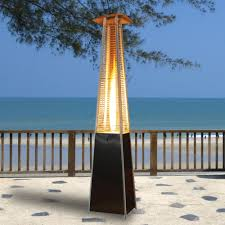 Propane Patio Heat Lamps by Stylish And Efficient Patio Heaters