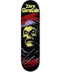 zero chris cole horror 8 25 skateboard deck zumiez