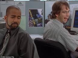 Cubicle Chat In One Of The First Scenes Re Created By Video