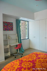 Ikea Sanela Curtains Red by Stay At Home Ista Pink And Aqua Bedroom Reveal Modern Vacation House