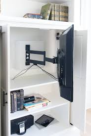 Friday Feels Hidden TV Cabinet Built ins