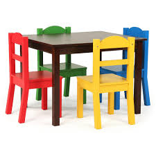 Kidkraft Farmhouse Table And Chair Set Walmart by Wood Kids Table Descargas Mundiales Com