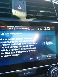Malfunction Indicator Lamp Honda Odyssey by Tpms Abs Brake System Acc Freak Out 2016 Honda Civic