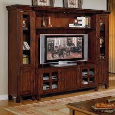 Image Of Popular Rustic Entertainment Centers