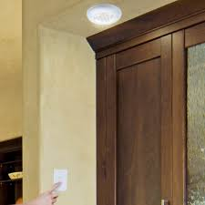 cordless ceiling wall light with remote light switch