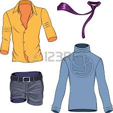 Man In Casual Clothing Clipart