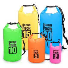 3l New Fashion Waterproof Pvc Sport Beach Bag Drift Swim Boating