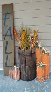 This Easy DIY Rustic Pumpkin Stand Is Perfect For The Front Porch A Fall Mantel Display Or Even Leaving Candy Out Halloween Trick Treat