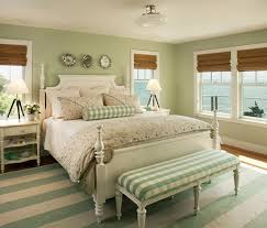 Country Bedroom In Green