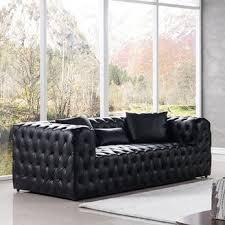 100 Foti Furniture Mercer41 69 Tuxedo Arm Chesterfield Loveseat Shopstyle