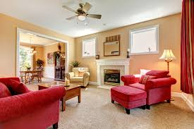 Decorate Red Living Room Furniture