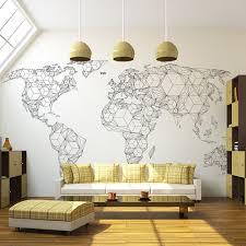 papier peint pour bureau papier peint worldmap idéal pour décorer un bureau home