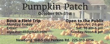 Pumpkin Patch Louisiana by Newsong On Old Perkins Road Prairieville La A United