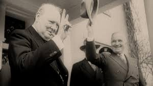Winston Churchill Iron Curtain Speech Video by Bbc Two Strange Days Cold War Britain Learning Zone Margaret