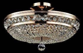 maytoni kristall deckenleuchte ottilia gold ø 43cm