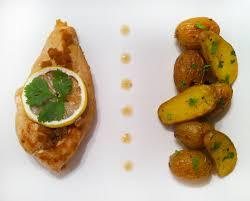 comment cuisiner les pommes de terre de noirmoutier escalope de poulet au citron confit pommes de terre grenaille de