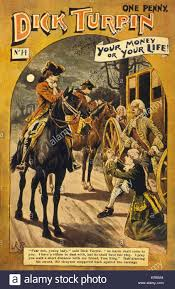 YOUR MONEY OR LIFE Dick Turpin Reassures A Petrified Young Lady On Her Knees That Tom King Will Look After While He Deals With Sir Grayson And