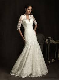 long lace sleeve wedding dress fashionoah com