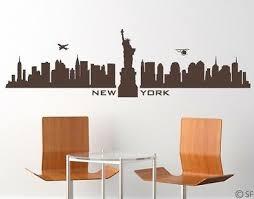 home décor items wandtattoo new york skyline amerika usa