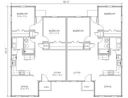 Images Duplex Housing Plans by Duplex House Plans Archiehome Duplex House Plans Archiehome Duplex