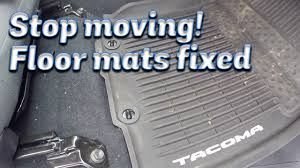 100 Truck Floor Mat Stop The Passenger From Moving YouTube