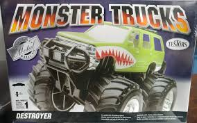 100 Destroyer Monster Truck S By Testors Metal Body Model Kit 302 For