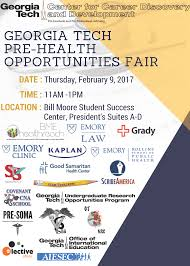 Pre Health Opportunities Fair C2D2