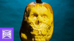 Maniac Pumpkin Carvers Facebook by Incredible Pumpkin Carving Stoned Mode Youtube