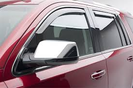 EGR 2015-2017 Chevy Tahoe Window Vent Visors Rain Guards In-Channel ... Rain Guards Inchannel Vs Stickon Anyone Know Where To Get Ahold Of A Set These Avs Low Profile Door Side Window Visors Wind Deflector Molding Sun With 4pcsset Car Visor Moulding Awning Shelters Shade How Install Your Weathertech Front Rear Deflectors Custom For Cars Suppliers Ikonmotsports 0608 3series E90 Pp Splitter Oe Painted Dna Motoring Rakuten 0714 Chevy Silveradogmc Sierra Crew Wellwreapped Kd Kia Soul Smoke Vent Amazing For Subaru To And