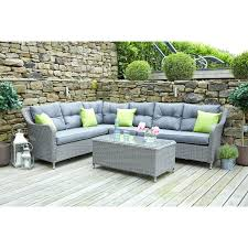 Pacific Lifestyle Slate Grey Antigua Corner Seating Set – The UK s