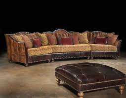 Style Rustic Reclining Leather Based Primarily Sectional Couch Further Sofas Can Be