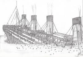 Sinking Ship Simulator The Rms Titanic by Titanic Sinking By Jbernardino On Deviantart