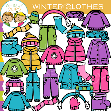 Winter Clothing Clip Art Images