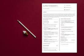 Executive Resume Sample 1