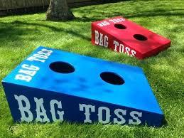Bean Bag Game Toss Football Rules