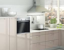 medano l küche mit hochglanzlack beige meda gute küchen