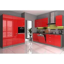 küche iii 240 160 küchenzeile hochglanz rot küchenblock einbauküche