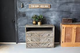 Beautiful Reclaimed Wood Dresser For Interiors Stunning Interior Design With Refurbished