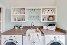 Coastal Virginia Idea House Beach Style Laundry Room Other