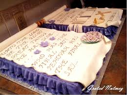 Scroll Cakes With Sides Showing Drape And Fold Technique