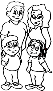 Attractive Design Ideas Coloring Pages Of Families Family Online 2017