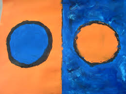 We Started The Unit By Learning About Famous Artists Then Looking At Paintings So Making Our Own Abstract Artwork This Is Paining I Have