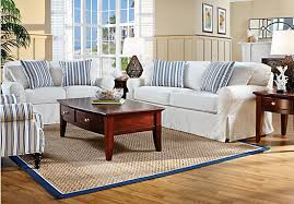 Cindy Crawford Denim Sofa by New Sofa For The Family Room The Blue Willow House