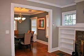 Dining Room Colors With Chair Rail Oak Popular Color